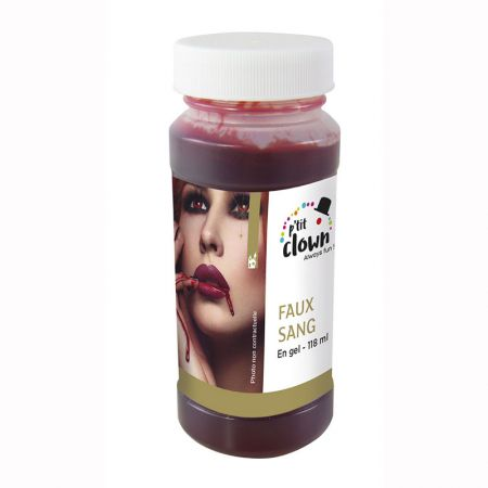 Faux sang en gel Bidon PM