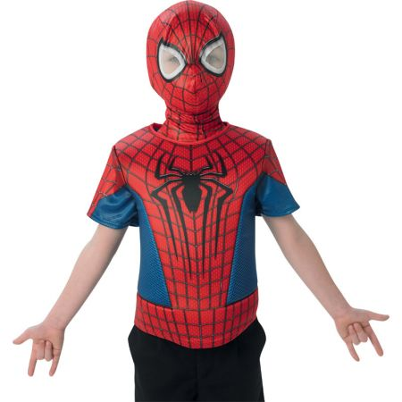 Cagoule et Plastron Spiderman Ultimate enfant