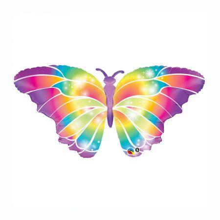 Ballon Papillon Multicolore