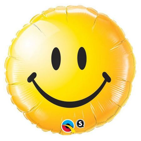 Ballon Smiley Face Yellow
