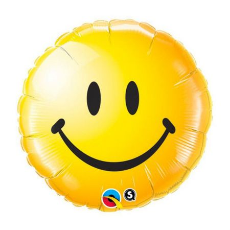 Ballon Smiley Face jaune