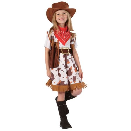 Déguisement Fille cow boy