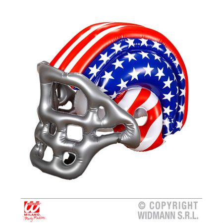 Casque Footballeur Americain Adulte Gonflable