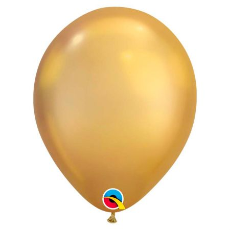 Ballon Chrome Qualatex Gold