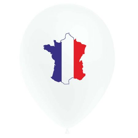 Ballon Carte De France (latex)