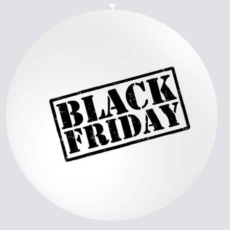 Ballon Black Friday Géant