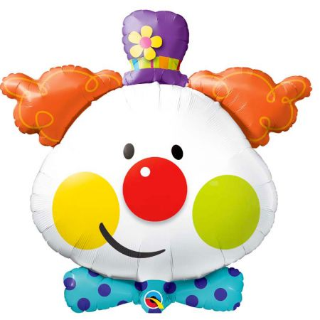 Ballon Clown Tête