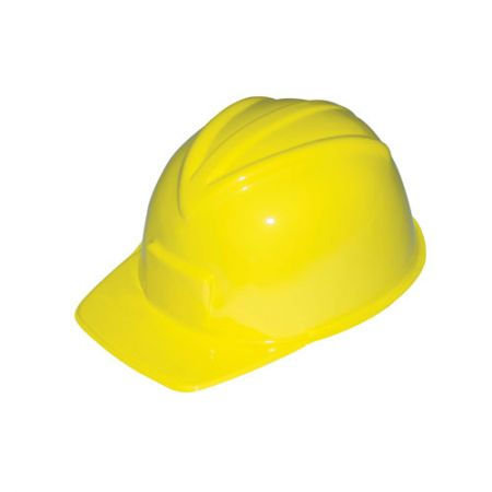 Casque de chantier jaune Adulte