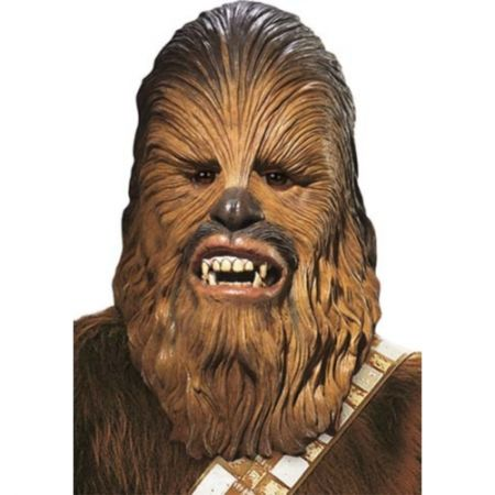 Masque Chewbacca luxe (Star Wars) adulte
