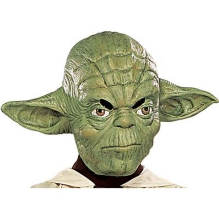 Masque Yoda 3/4 (Star Wars) adulte