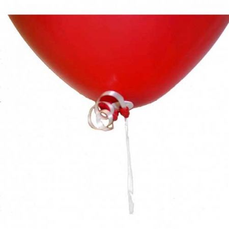 Attaches Ballon Avec Bolduc (par 100)