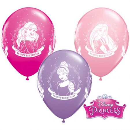 Ballon Anniversaire Princesses Qualatex