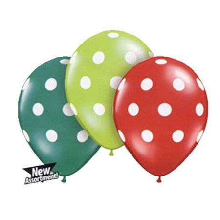 Ballon Polka Assortiment Noël