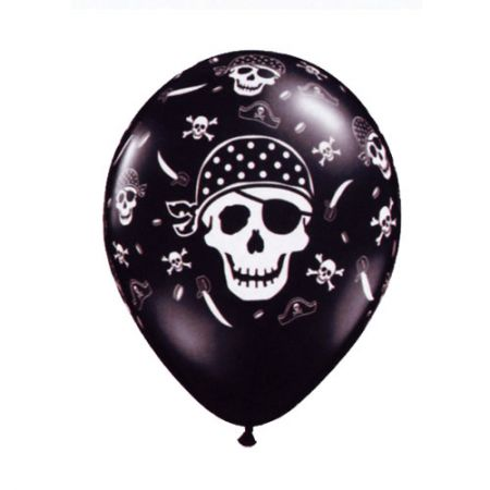 Ballon Tête de mort qualatex