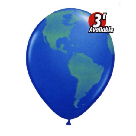 Ballon globe qualatex