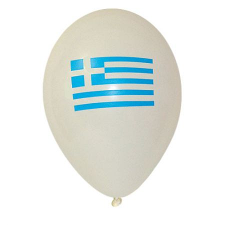 Ballon drapeau Grece (latex)