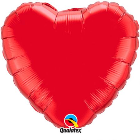 Ballon Mylar Coeur rouge (red)