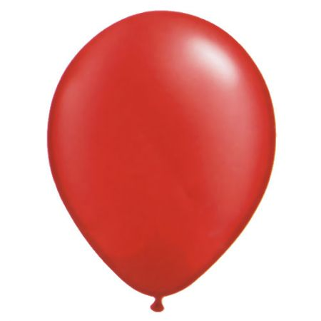 Ballon Rouge Perlé (Ruby Red)