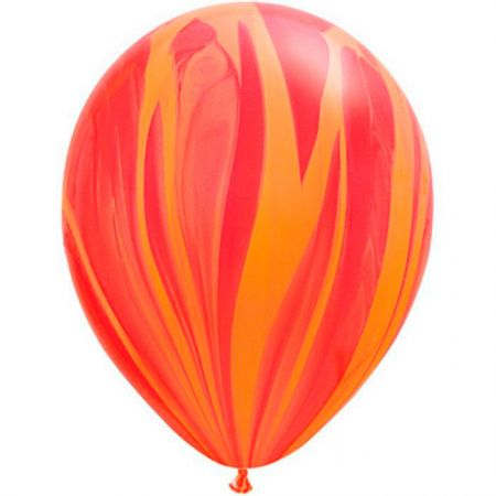 Ballon Rouge Orange (Red Orange)