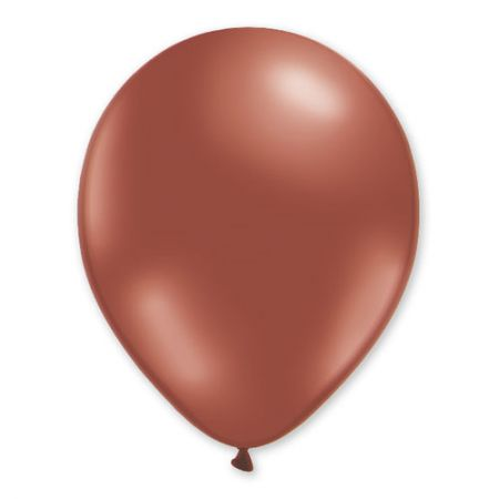 Ballon bordeaux cristal