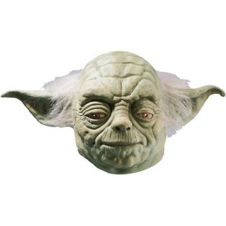 Masque Yoda latex luxe (Star Wars) adulte