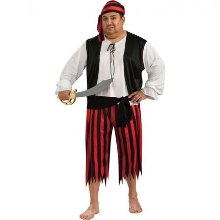 Déguisement pirate homme grande taille