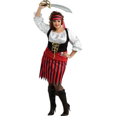 Déguisement pirate femme grande taille