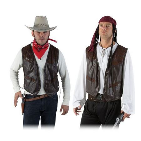 Déguisement Gilet Cow-Boy ou pirate