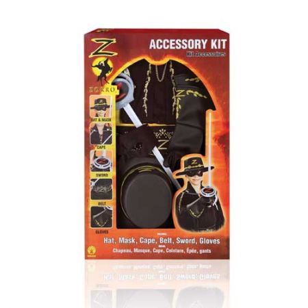 Kit luxe accessoires Zorro
