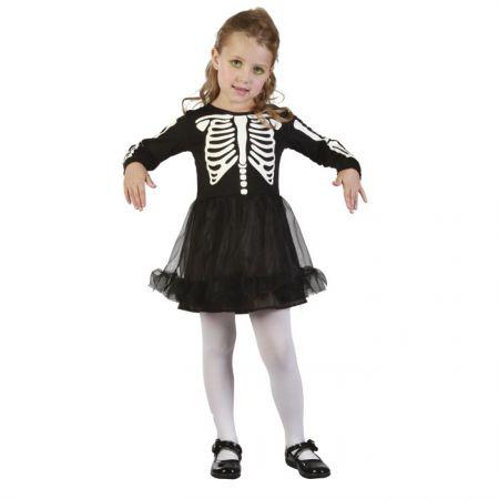 d guisement robe squelette b b halloween. Black Bedroom Furniture Sets. Home Design Ideas