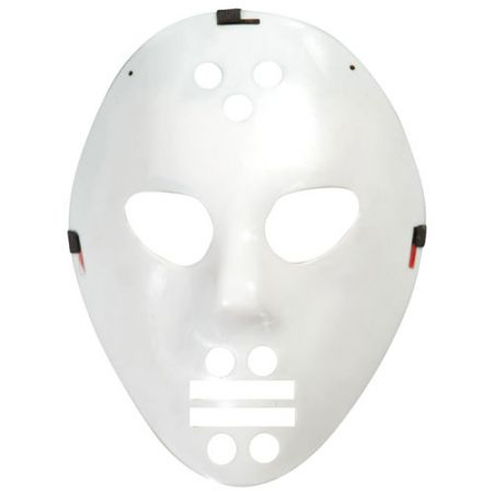 Masque Hockey Blanc