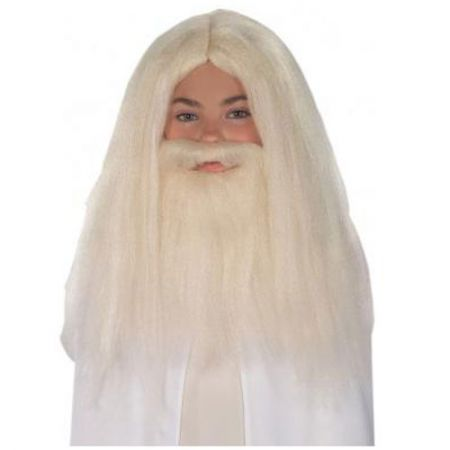 Perruque et Barbe Gandalf homme