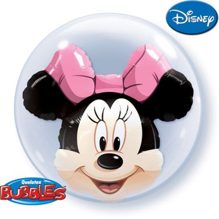 Ballon Double Bubble Minnie