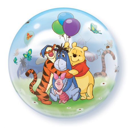 Ballon Bubble Winnie l'Ourson