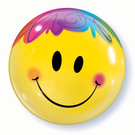 Ballon Bubble smiley