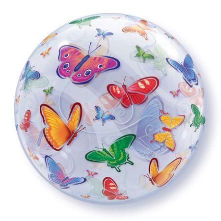 Ballon Bubble papillons