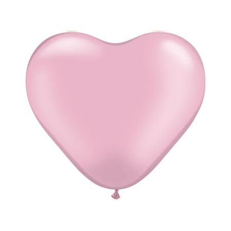 Ballon Coeur Rose (Pink)