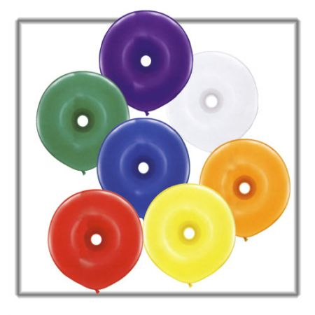 Ballon Donut Assortiment Cristal
